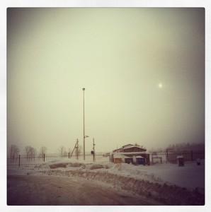 дорога минск-гомель дек2012